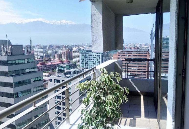 Departamento en Providencia - Barros Borgoño, Santiago, Standard Suite, 1 Double Bed, Non Smoking, Balcony