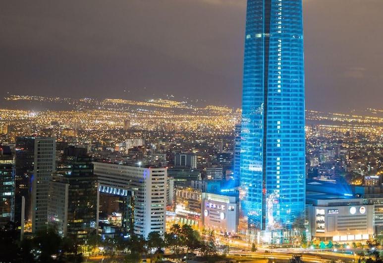 Departamento en Providencia - Nueva Lyon, Santiago, Pohľad na zariadenie - večer