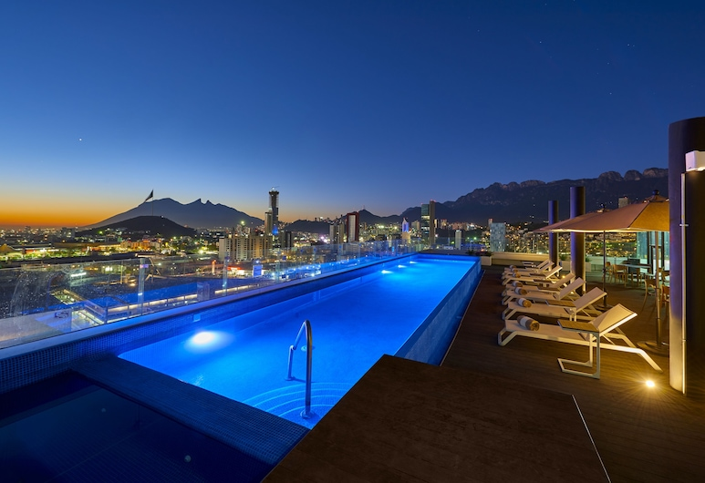 Radisson Hotel Monterrey San Jeronimo, Monterrey, Terasz/udvar