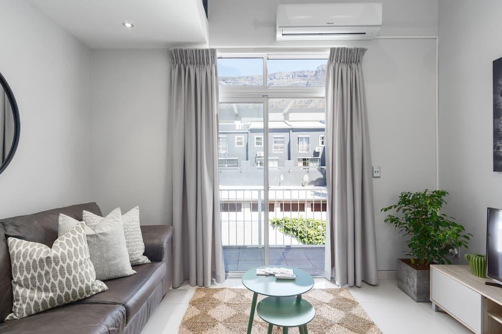 Comfort-Apartment, 1King-Bett, Nichtraucher - Wohnzimmer