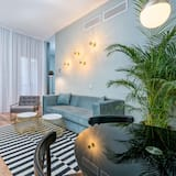 Apartment, 1 Bedroom (D) - Living Room