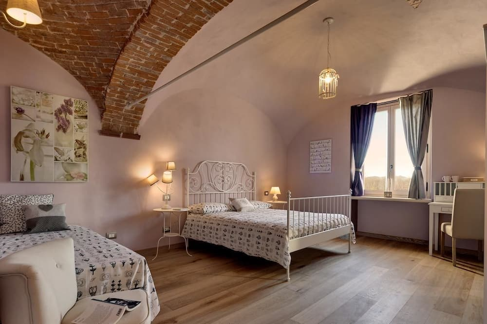 Trippelrum - flera sängar (1 Amore e Psiche) - Gästrum