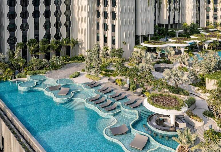 The Outpost Hotel Sentosa by Far East Hospitality, Singapore, Pool