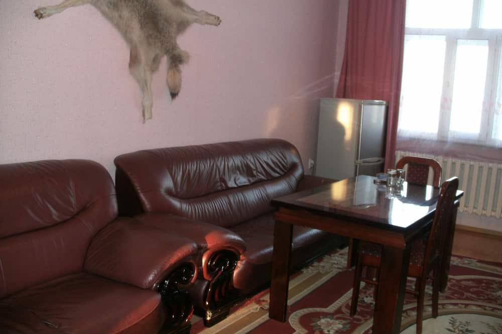 Grand Apart Daire, 1 Çift Kişilik Yatak, Sigara İçilmez - Oturma Alanı