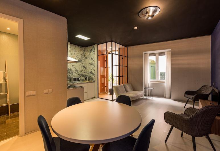 Alfama - Lisbon Lounge Suites, Lisboa, Departamento superior, 1 habitación, Servicio de comidas en la habitación