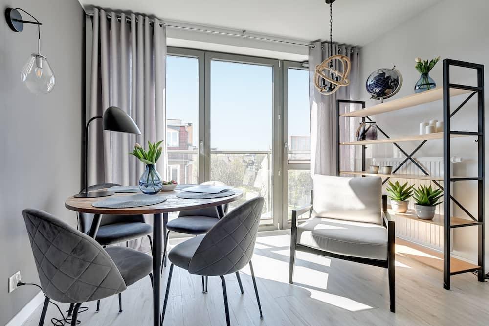Luksusa dzīvokļnumurs, viena guļamistaba (A64) - Numurs
