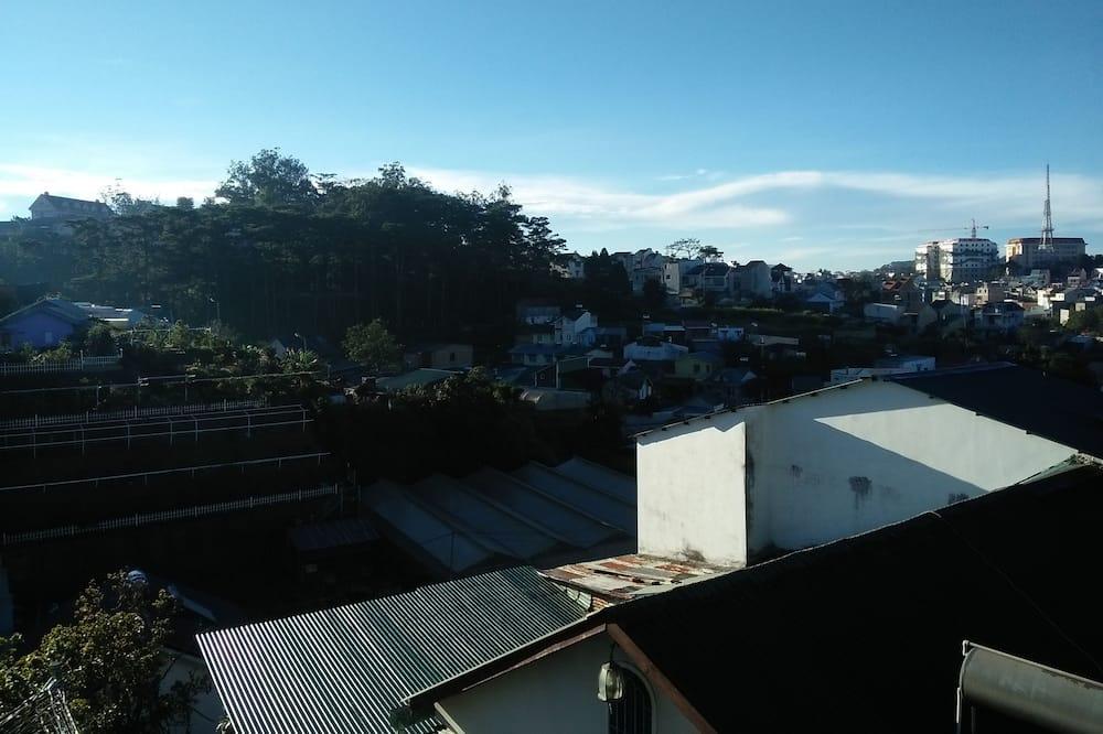 Dortoir Partagé, dortoir mixte, vue montagne - Balcon