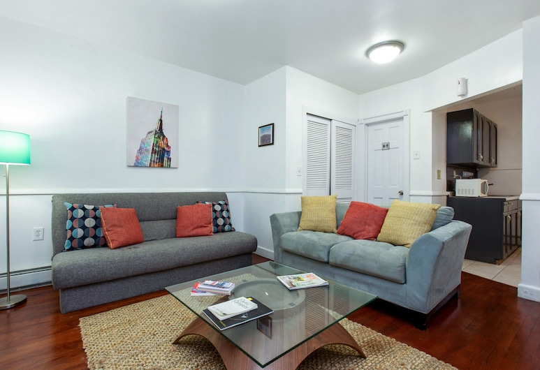 New York, NY by Racpanos, Jersey City, Standard-Apartment, 2Schlafzimmer, Küche, Zimmer