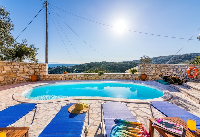 Loggos Private Pool Cottage Misoula By Konnect, Paxos, Outdoor Pool