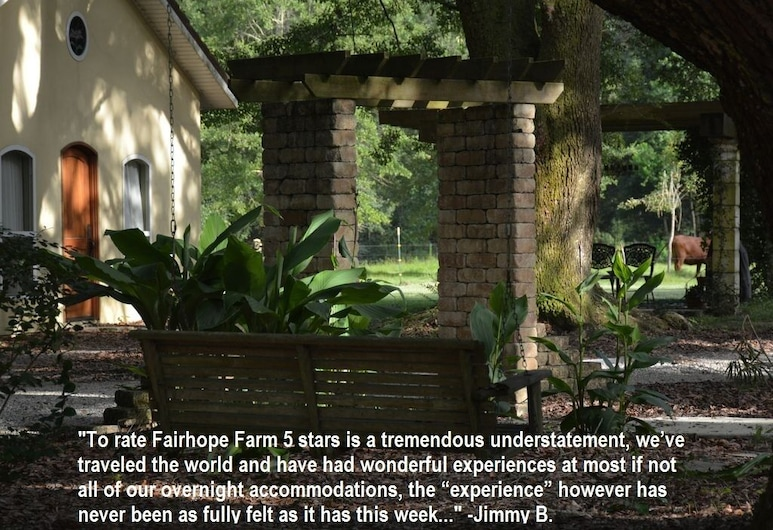 Farm Stay: Come Stay With Us, Fairhope, Property Grounds