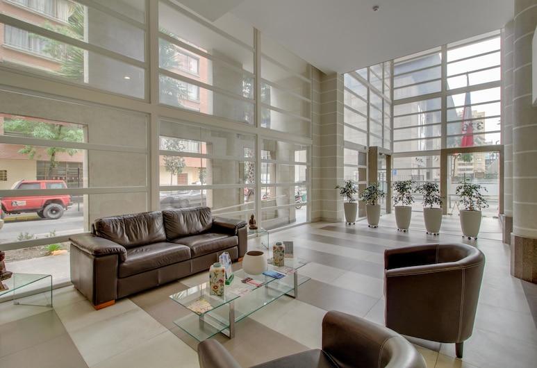 斯蒂歌中心現代公寓酒店, Santiago, 大堂