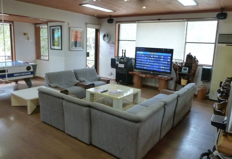 Heart Land Hills A dog run house, Shika, Private Vacation Home, Living Room