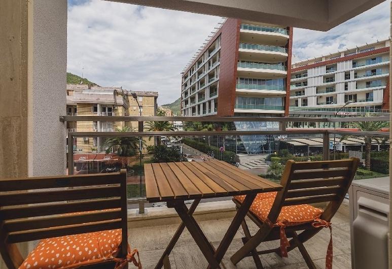 蓋托飯店, Budva, 公寓, 1 間臥室, 城市景觀 (1), 陽台