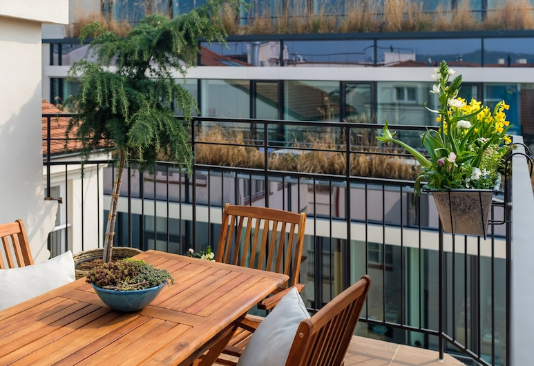 City Nest, Prague, Apartment, 2 Bedrooms, Non Smoking, Terrace, Terrace/Patio
