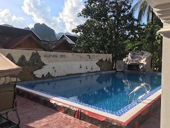 Naktsmītnes Vilayvong Hotel attēls vietā Vang Vieng