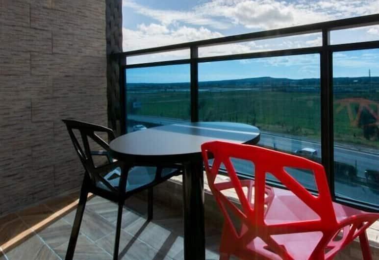 Kenting Chiu Chaung Homestay, Hengchun, Standardní pokoj s dvojlůžkem, Výhled z balkonu