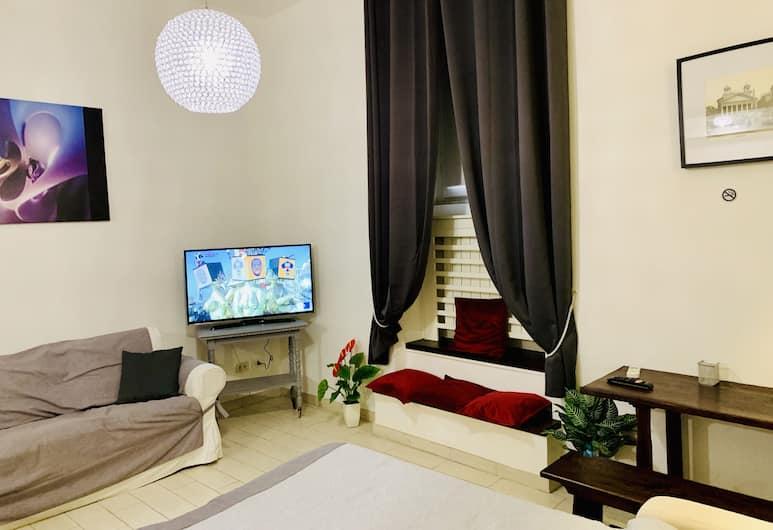 Chroma Apt Farinone 28, Roma, Appartamento, 2 camere da letto, Area soggiorno