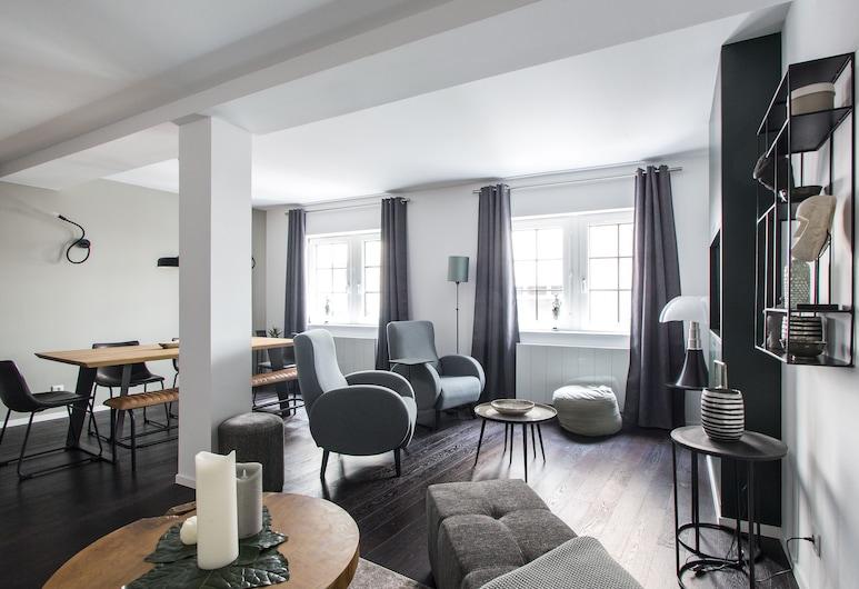 La Cour Du Musée - Appartement, Colmar, Departamento Deluxe, 2 habitaciones, Sala de estar