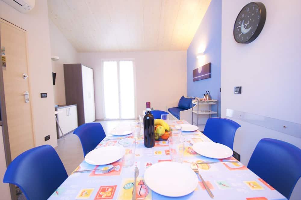 Appartement, 2 slaapkamers (Luna) - Eetruimte in kamer