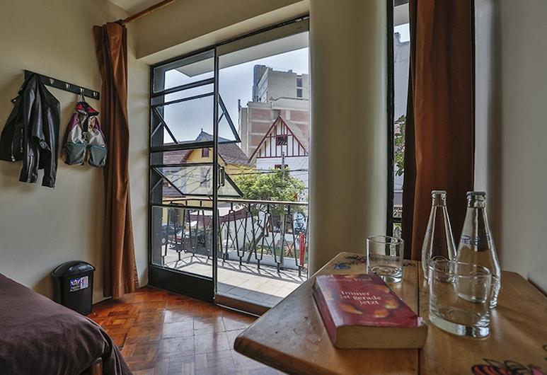 Hostel Kokopelli Nightlife - Miraflores, Lima, Chambre Double, salle de bains commune, Chambre