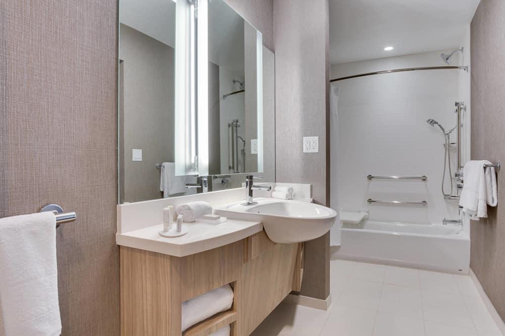 스위트, 킹사이즈침대 1개, 금연 - 욕실