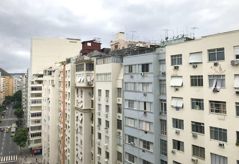 코파카바나 포스토 6, 리우데자네이루, 스탠다드 아파트, 더블침대 1개 및 소파베드, 금연, 객실에서 보이는 전망