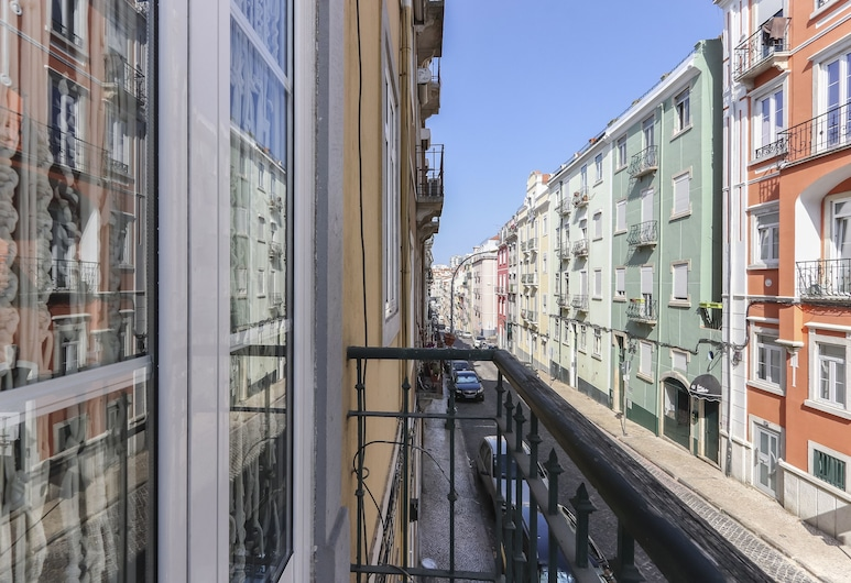 Red Almirante by Homing, Lisbon, Apartment, 3 Bedrooms, Balcony (1E), Balcony