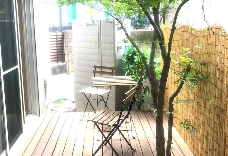 Tokyo Art House, Tokio, Habitación, baño compartido (#101, max 7 Guests, Terrace ), Terraza o patio