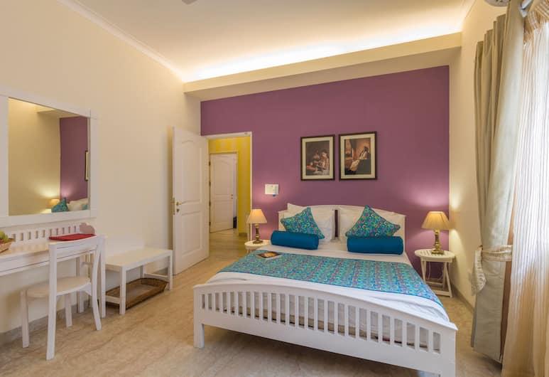 Colonels Retreat 2, Yeni Delhi, Deluxe Tek Büyük veya İki Ayrı Yataklı Oda, 2 Tek Kişilik Yatak, Sigara İçilmez, Oda