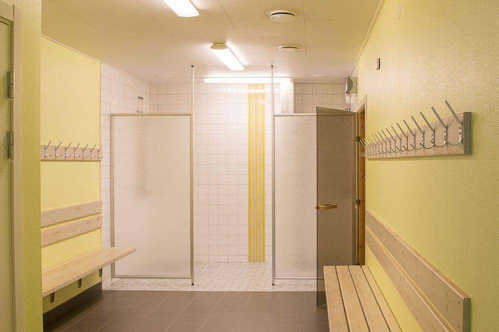 Værelse med 2 enkeltsenge - 2 enkeltsenge - handicapvenligt - ikke-ryger - Badeværelse