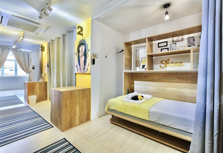 HipsterCity Hostel, Singapore, Single Bed in Mixed Dorm, Guest Room