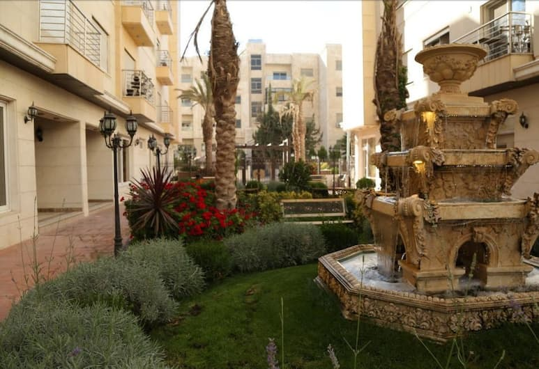 Western Gate Residence, Amman, Luxury Apartment, 3 Bedrooms, Non Smoking, Garden View (A7), View from room