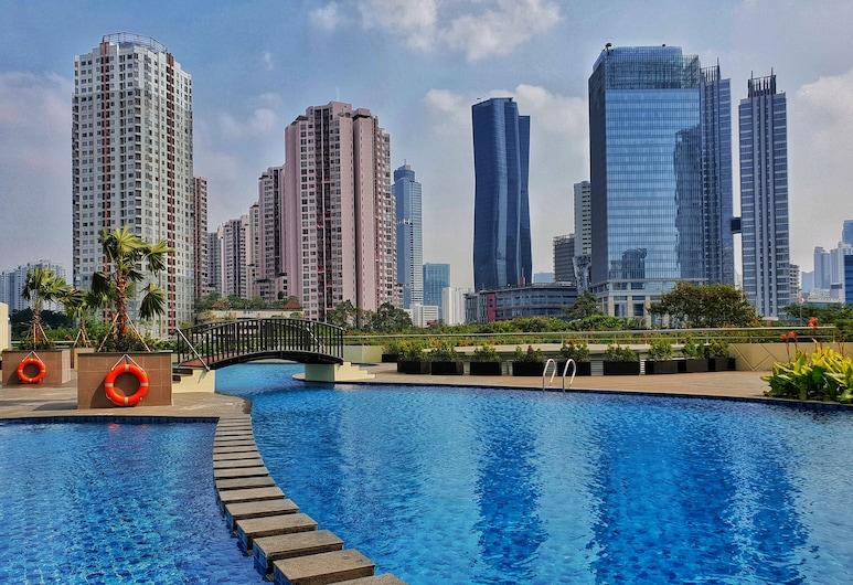 Swiss-Belresidences Rasuna Epicentrum, Jakarta, Outdoor Pool