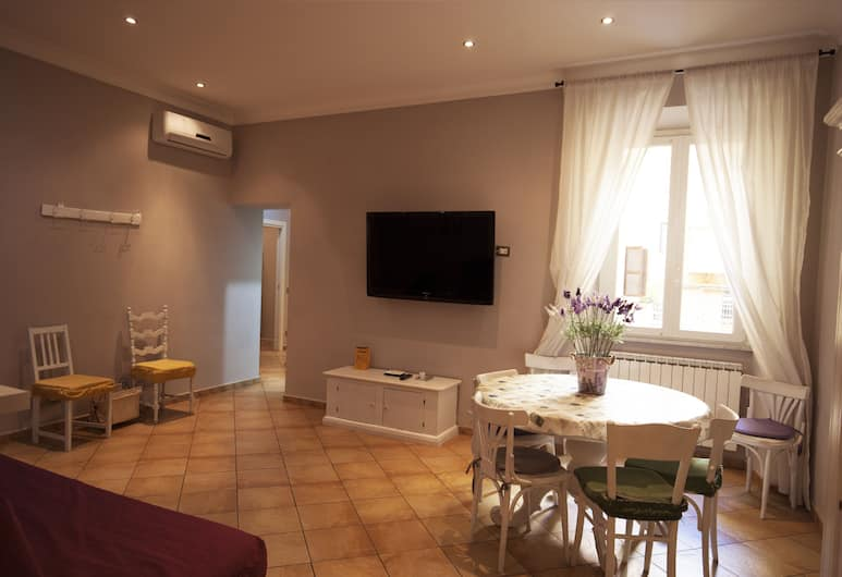 All Suite Colosseo, Rome, Appartement, 3 slaapkamers, Woonruimte