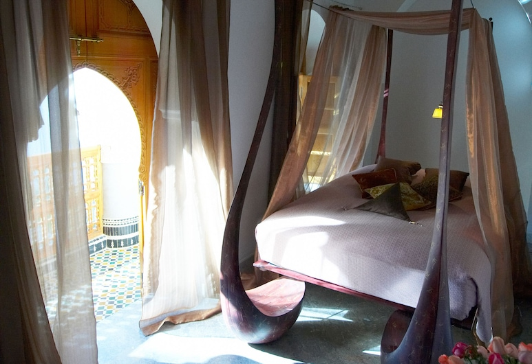 Riad Enija, Marrakech, Double Room, 1 Double Bed, Non Smoking, Guest Room