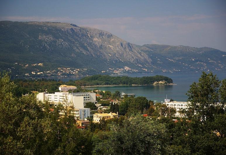 마리아리스 아파트먼트, 코르푸, 숙박 시설에서 보이는 전망