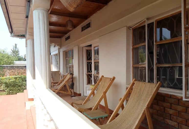 Amahoro Guest House, Muhoza, Terrasse/Patio
