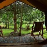 Eenvoudige tent, niet-roken - Uitzicht op tuin