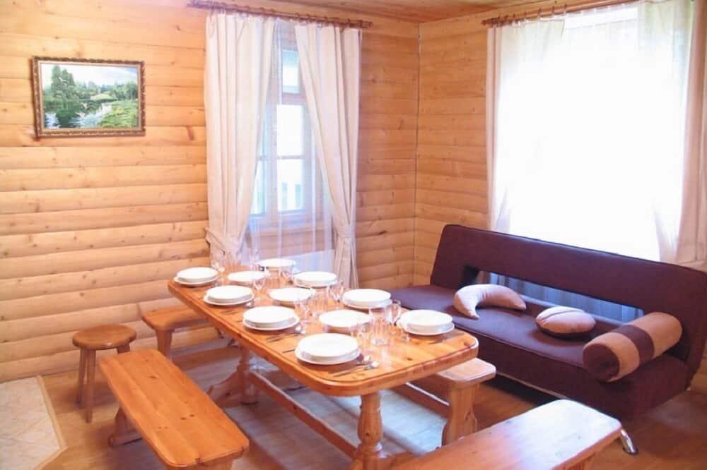 Štandardná rekreačná chata (10 people) - Obývacie priestory
