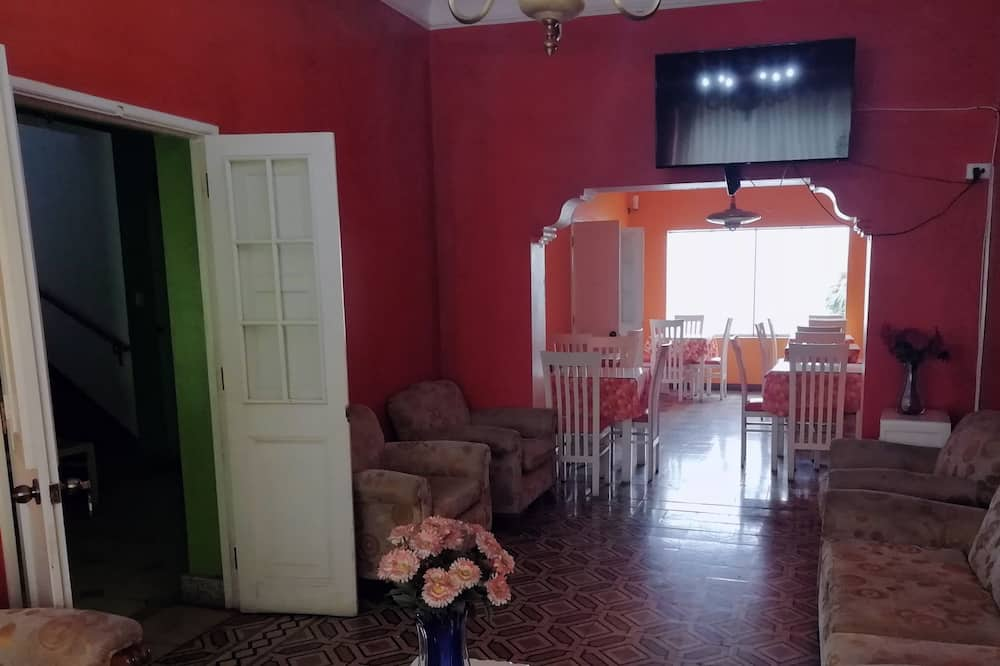 Camera singola - Area soggiorno