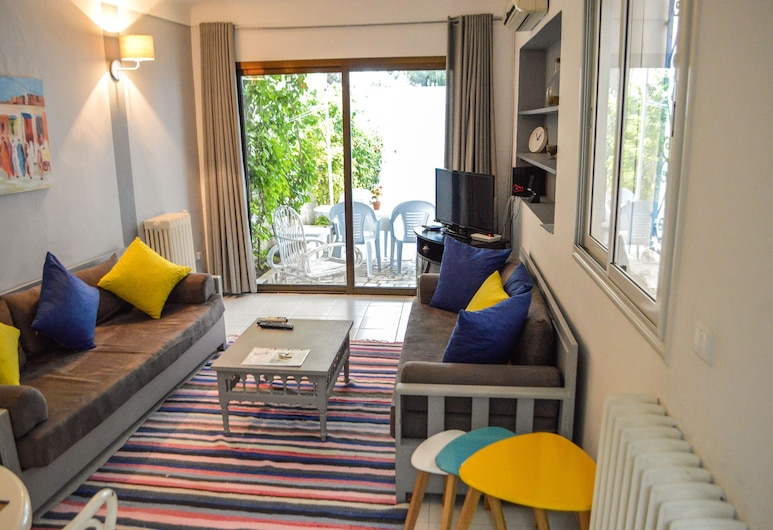 Cozy Apartment in Sidi Bou Said, 西迪布賽德, 客廳