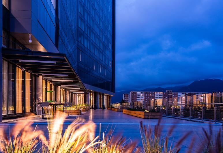 Hilton Bogota Corferias, Bogotá, Terrazza/Patio