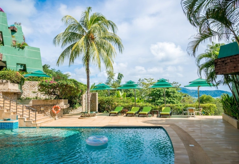 Aspasia Kata Luxury Resort Apartment, Karon, Venkovní bazén