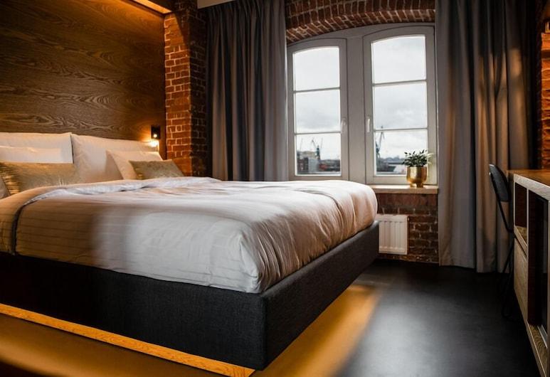 GINN Hotel Hamburg Elbspeicher, Hamburg, Superior-Doppelzimmer, Flussblick, Zimmer