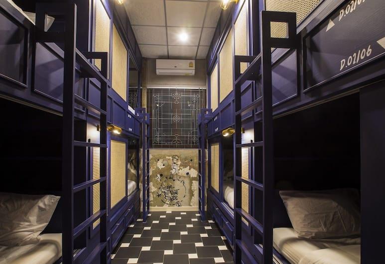 アズール ホステル バンコク - 大人限定, バンコク, Bed in Midnight 8 Bed Shared Dormitory, 客室