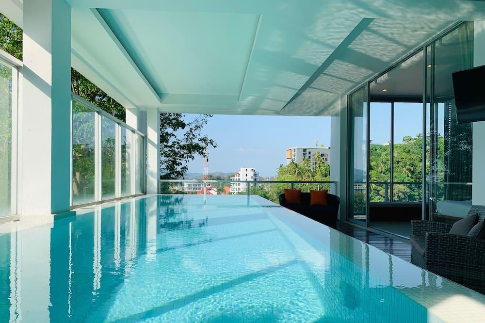 Luxury Penthouse - Kolam renang persendirian
