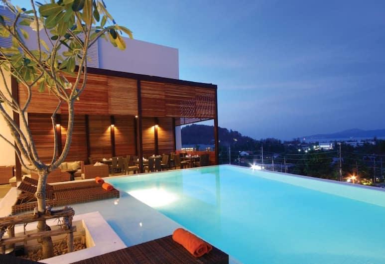 더 쿼터 바이 로프티, Choeng Thale, 루프탑 수영장