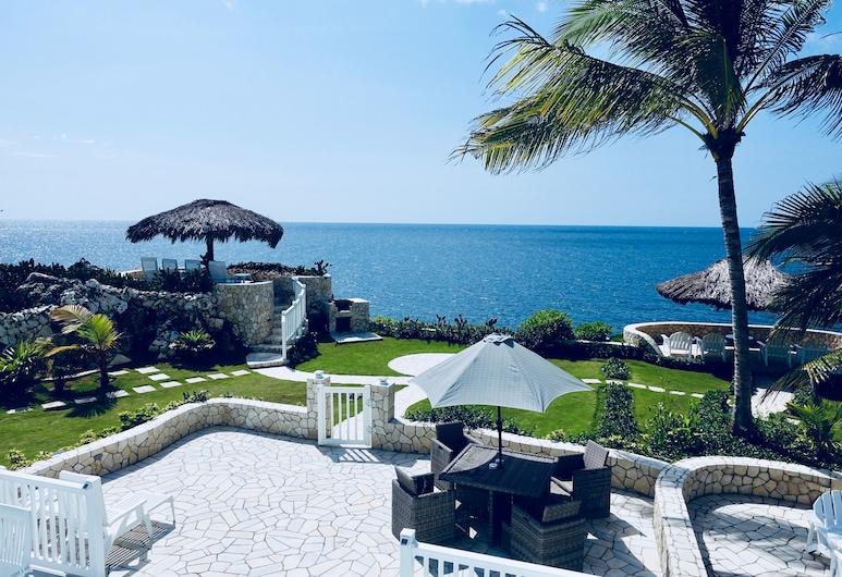 Stunning Ocean View, Negril, Byhus – family, 2 soverom, kjøkken, utsikt mot hav, Terrasse/veranda