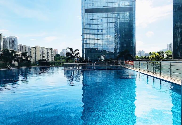 Jinzhonghuan Serviced Apartment(Shenzhen Xinhao E Du Branch), Shenzhen, Kolam Renang