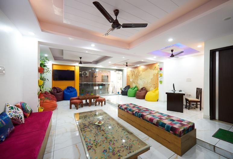 Himalayan Hostel, New Delhi, Voorkant hotel